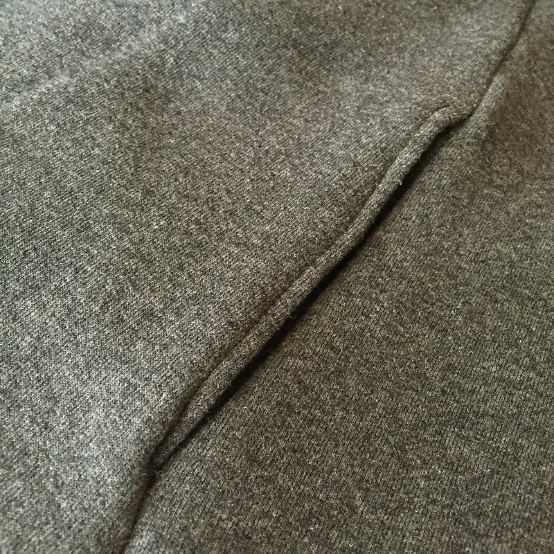 Sweatshirt Refit - In Progress