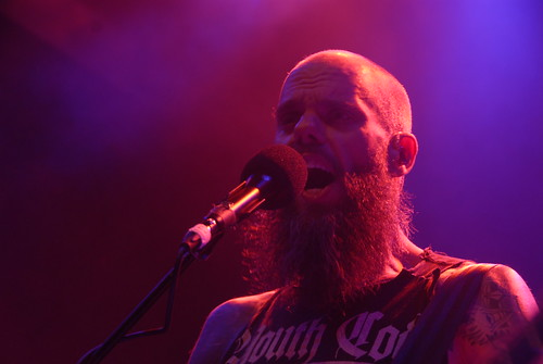 John Baizley of Baroness at the 9:30 Club