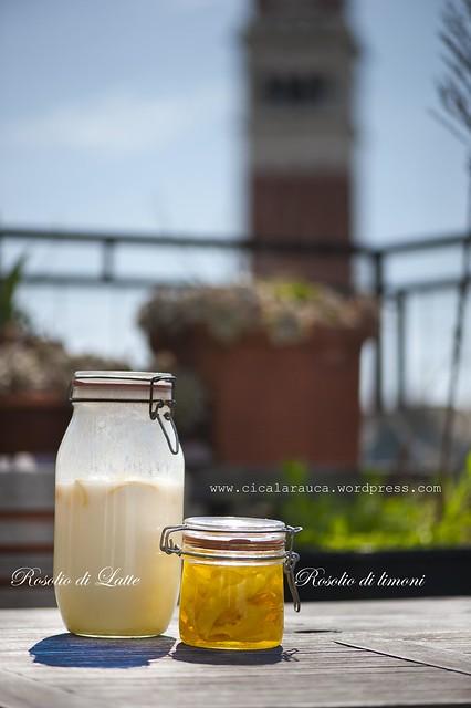 Rosolio di latte - Rosolio di limoni