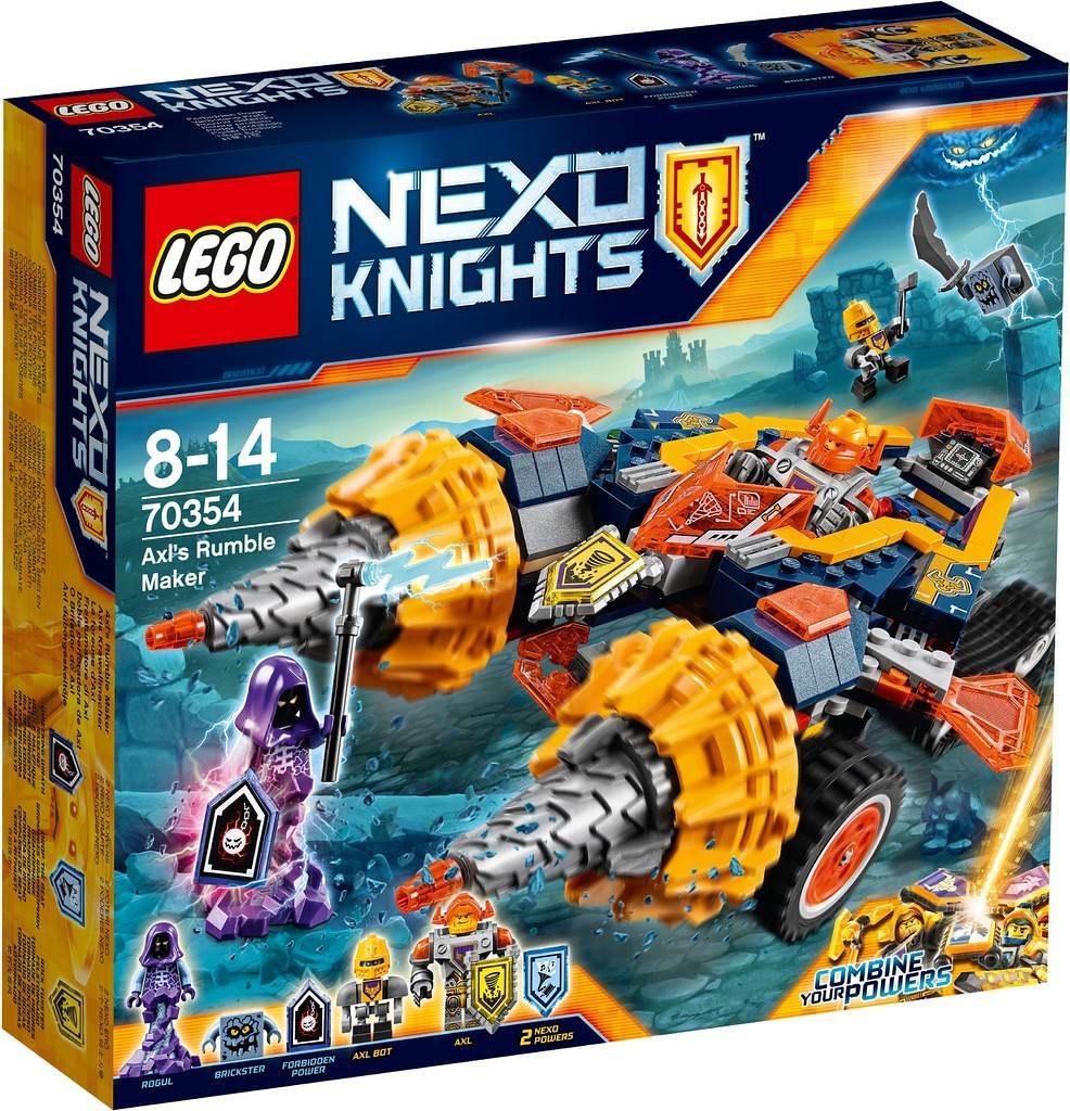 LEGO Nexo Knights 70354 - Axl's Rumble Maker