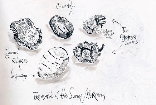 Sketchbook #102: Treasures