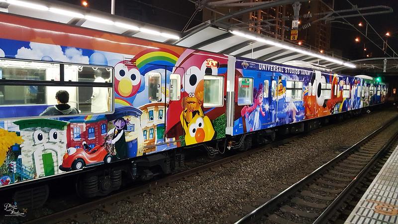 universal studios japan train