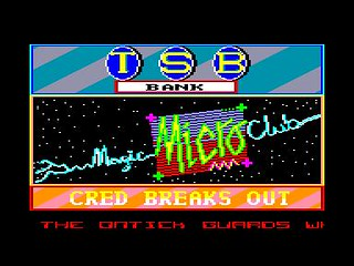 Cred Breaks Out (Amstrad CPC) | by Deep Fried Brains