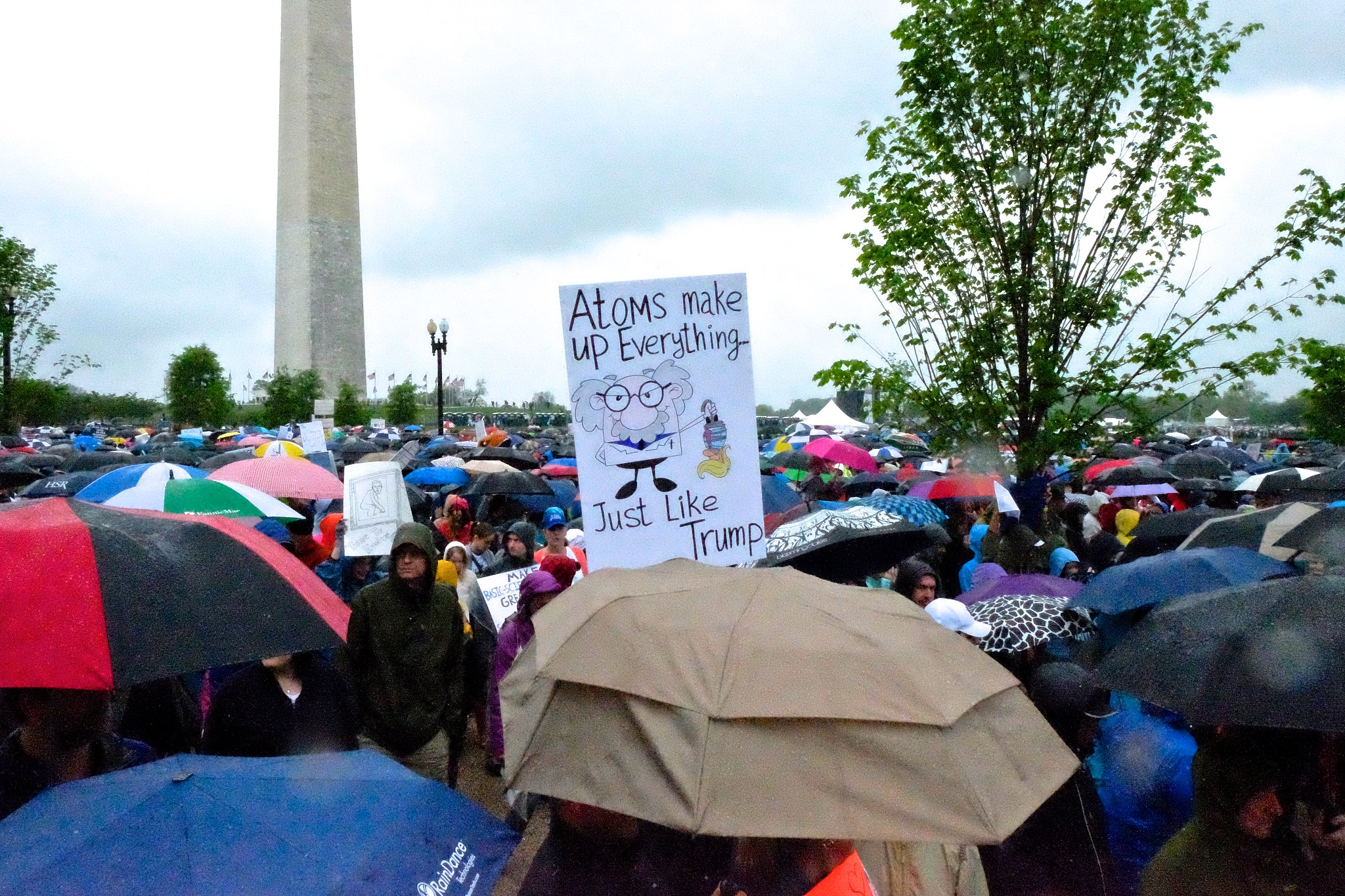Activists converge in nation's capital to march for science