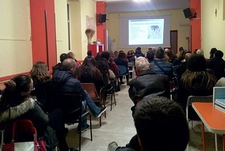 Torre a Mare. Evento dipendenze front