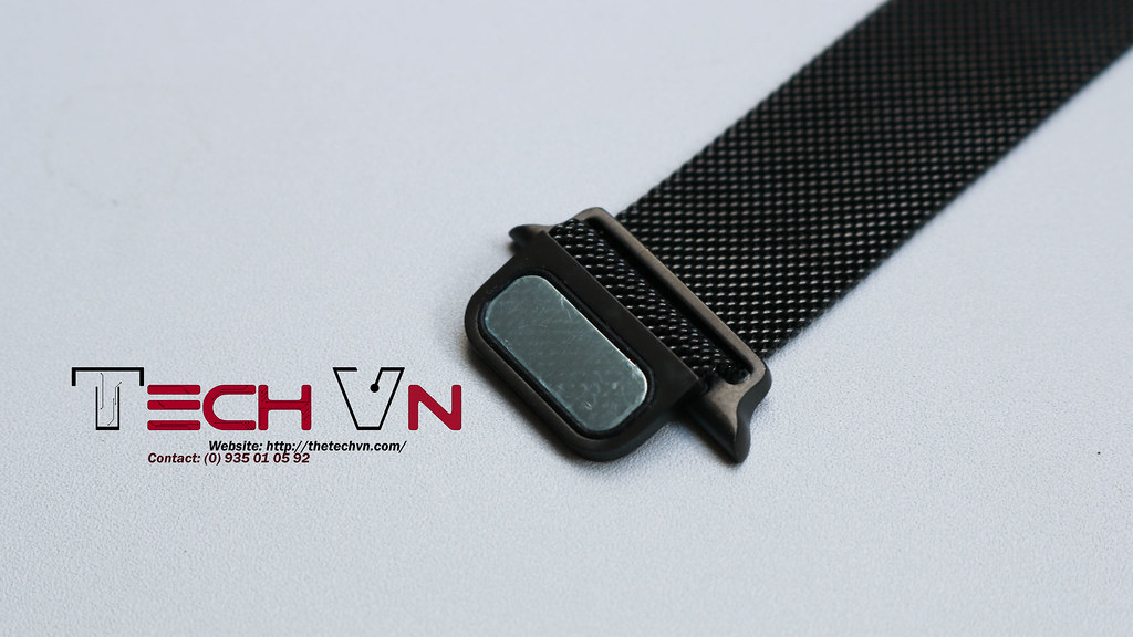Dây thép apple watch milanese loop 7