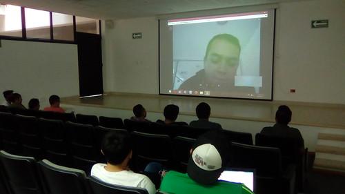 Videoconferencia de emprendedor de Michoacán