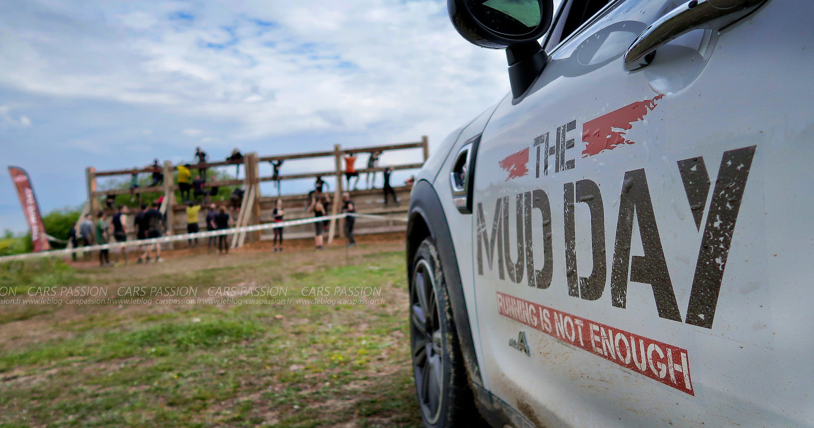 The Mud Day 2017 Paris avec Mini FR