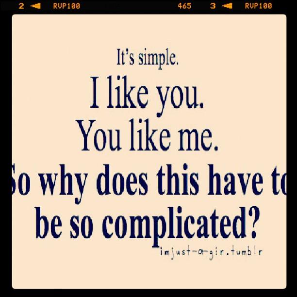 Love Relationships Relationship Complicated Crush Li Flickr