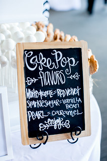 Chalkboard menu for our cake pops at Unveiled! | by Sweet Lauren Cakes