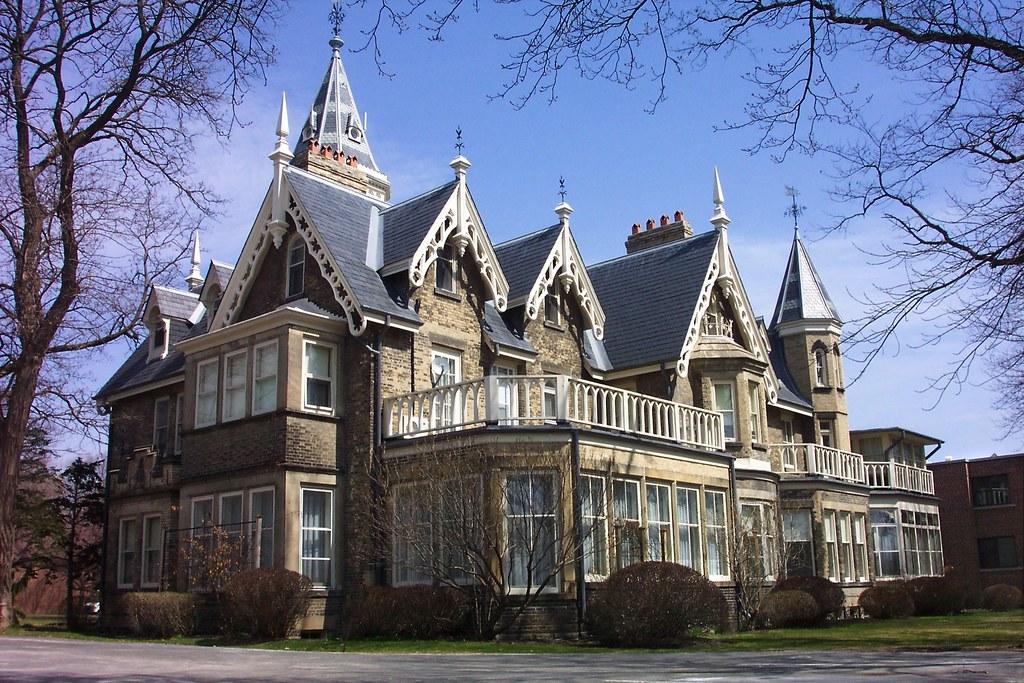 Oakland Mansion Gothic Architecture De La Salle Victorian Castle AKA Heritage Protection