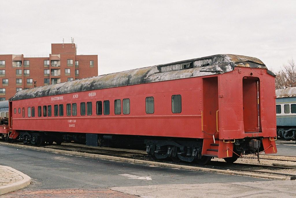 B O Railroad Museum Baltimore Md B O Camp Car No