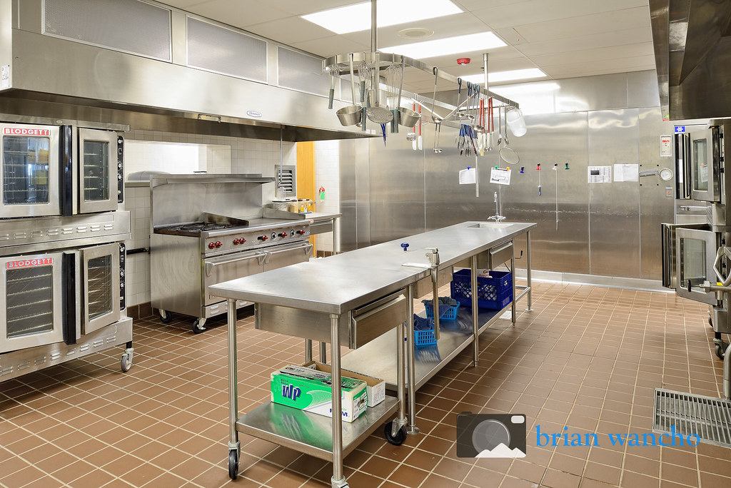 Cafeteria Kitchen At Marguerite J Lundy Elementary School Flickr
