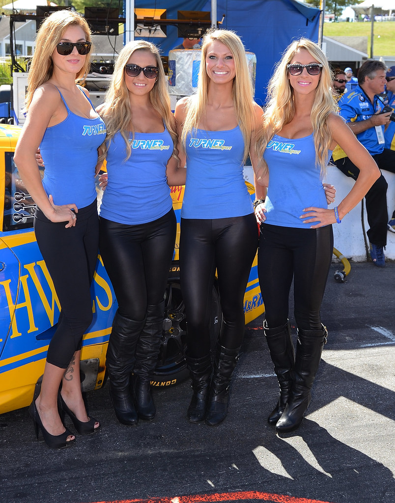 Turner Motorsports Grid Girls Rolex Grand Am Racing At