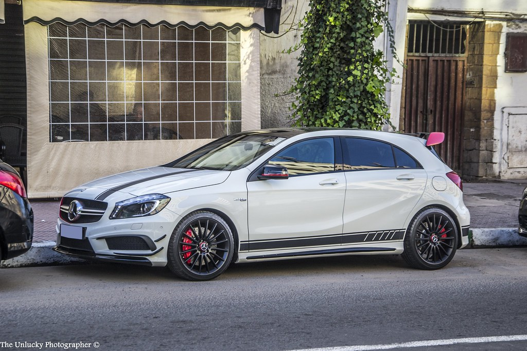 mercedes a45 amg edition 1 the unlucky photographer flickr. Black Bedroom Furniture Sets. Home Design Ideas
