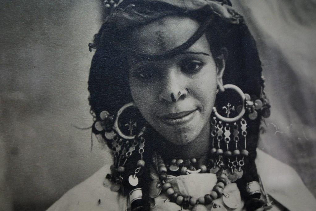 Portrait de Marocaines au musée de la Photo de Marrakech.