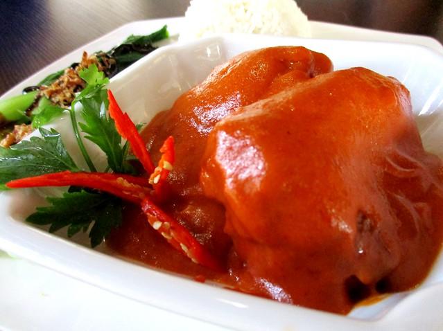 Cafe Ind ayam masak habang 2