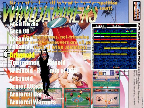 Windjammers - skin AtomicFE