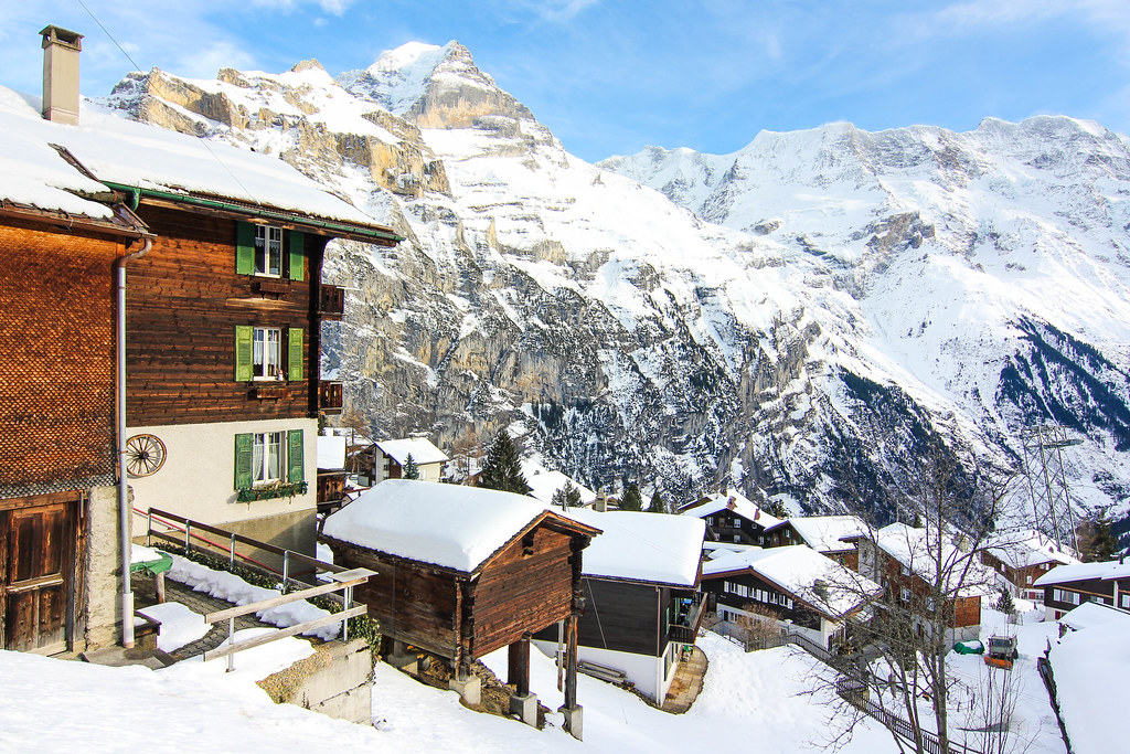 Mürren: Visiting the Schilthorn, Switzerland