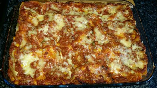 Beef & Sausage Lasagne Recipe