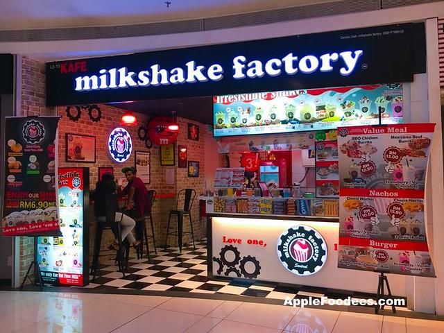 Milkshake Factory NU Sentral