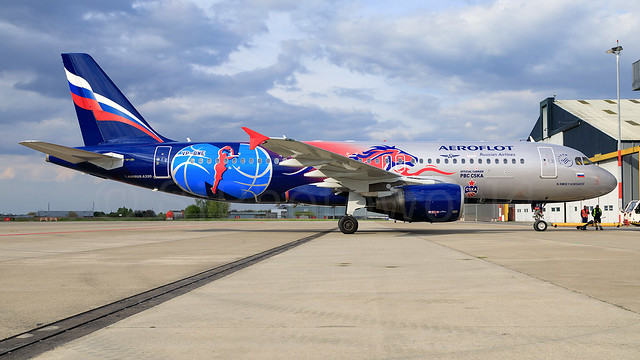 Aeroflot Russian Airlines Airbus A320-2 VP-BWE