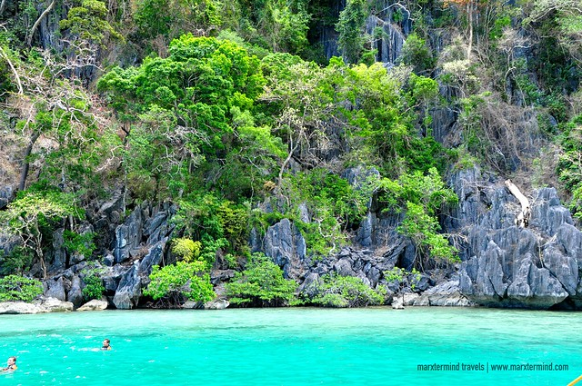 Green Lagoon in Coron, Palawan