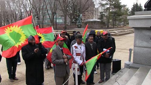 Oromo Peaceful Rally