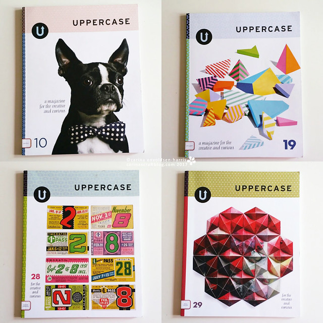 Uppercase magazines destash