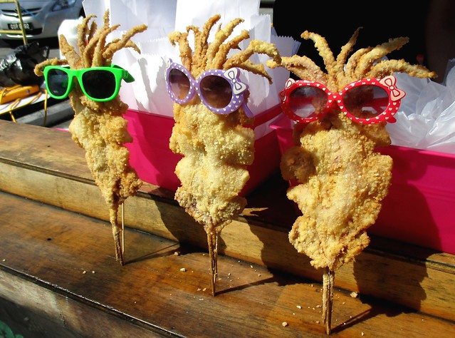 Asian Food Fest cuttlefish in sunglasses