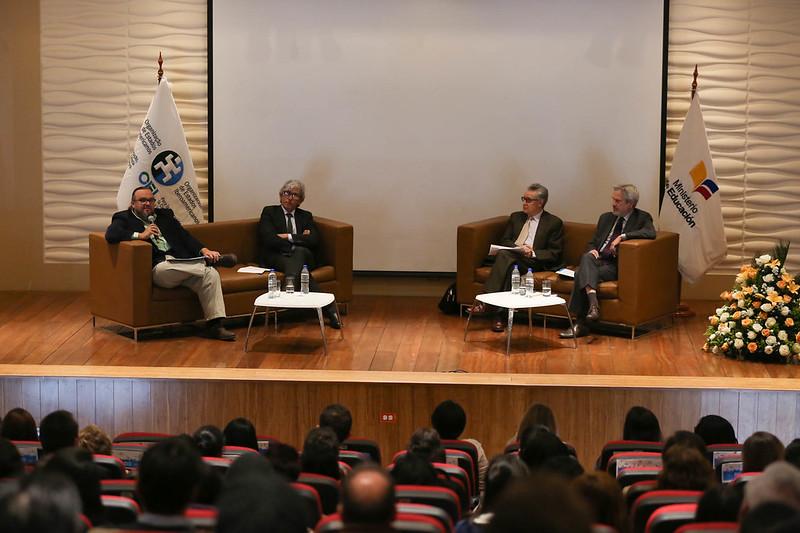Conversatorio Formación de docentes y estudiantes para la mejora de la calidad de la Educación