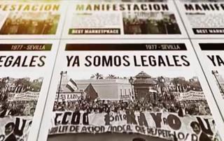 Acto 40 años de la legalización de CCOO