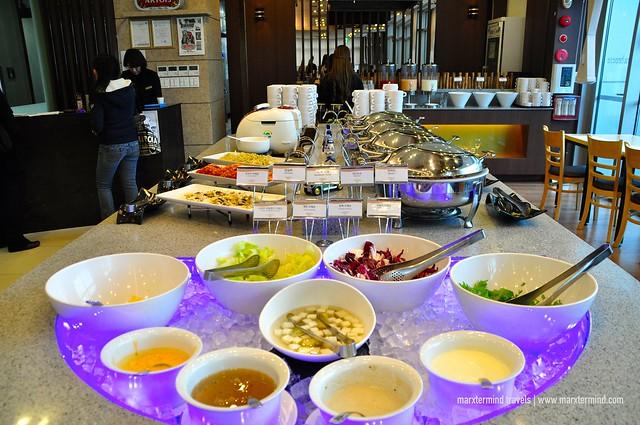 Breakfast Buffet at Citadines Haeundae Busan