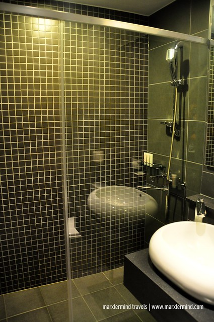 Bathroom at Citadines Haeundae Busan