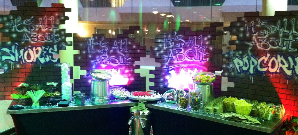New Type R >> Urban City Graffiti Theme Candy Table by Pittsburgh Candy ...