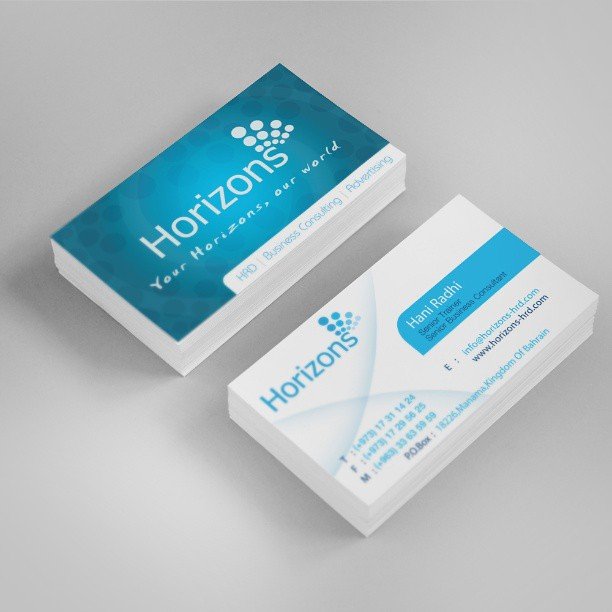 Business card for horizons hrd flickr business card for horizons hrd reheart Images
