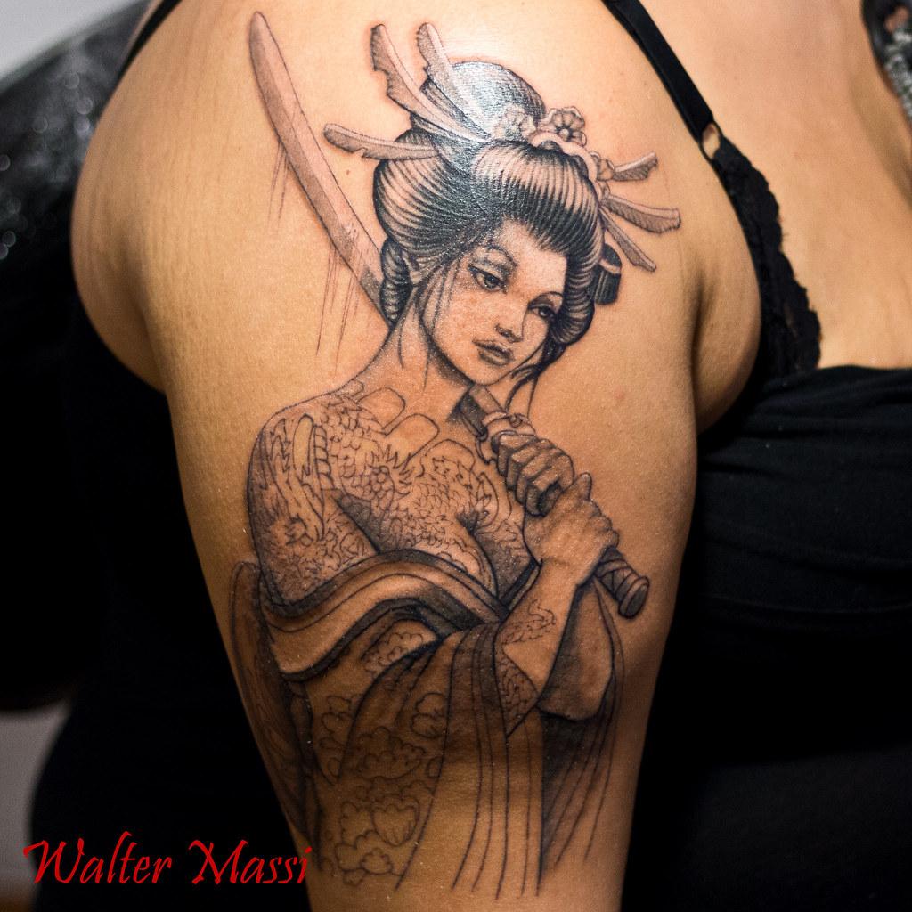 Walter Massi Tattoo | working in progress tattoo | walter