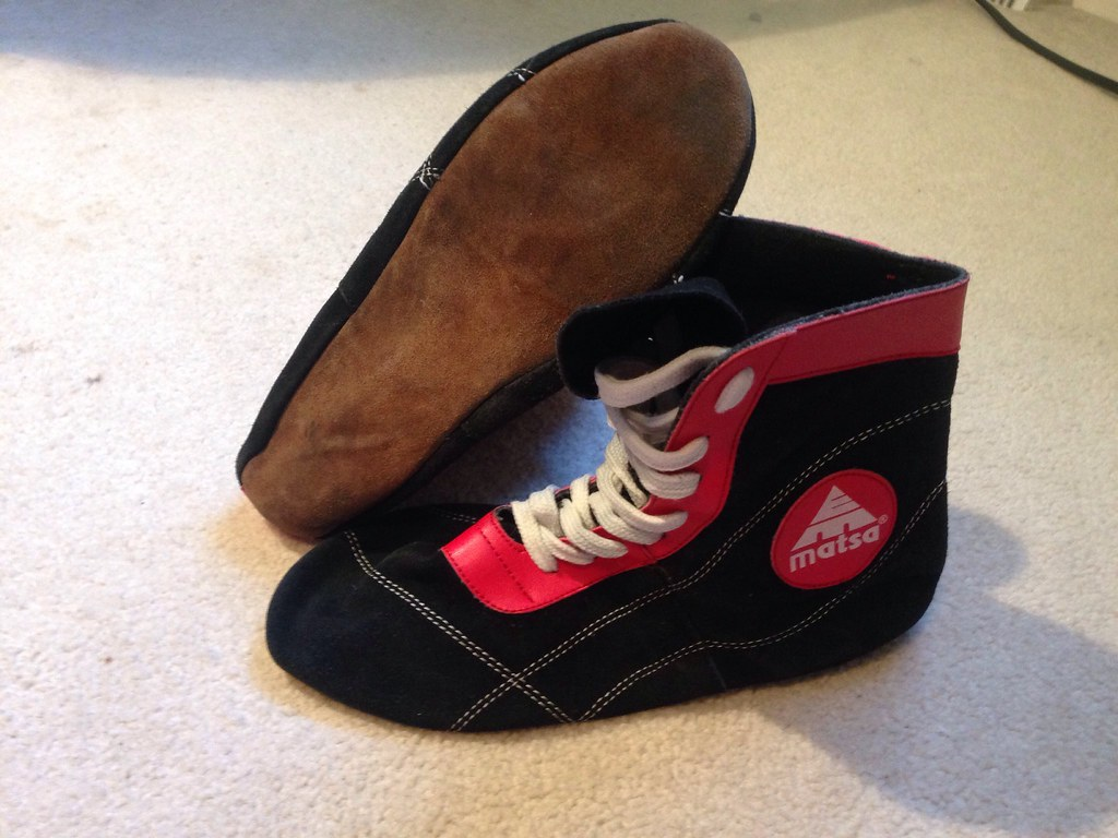 russian wrestling shoes | These are original Russian wrestli… | Flickr