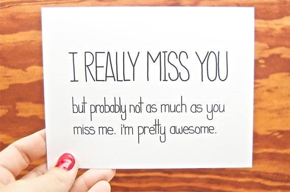 quotes # love # relationship funny i miss you card i really miss you ...