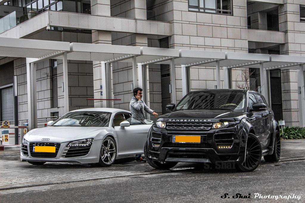 Range Rover Evoque Hamann Amp Audi R8 V8 Shahaf Shai Flickr