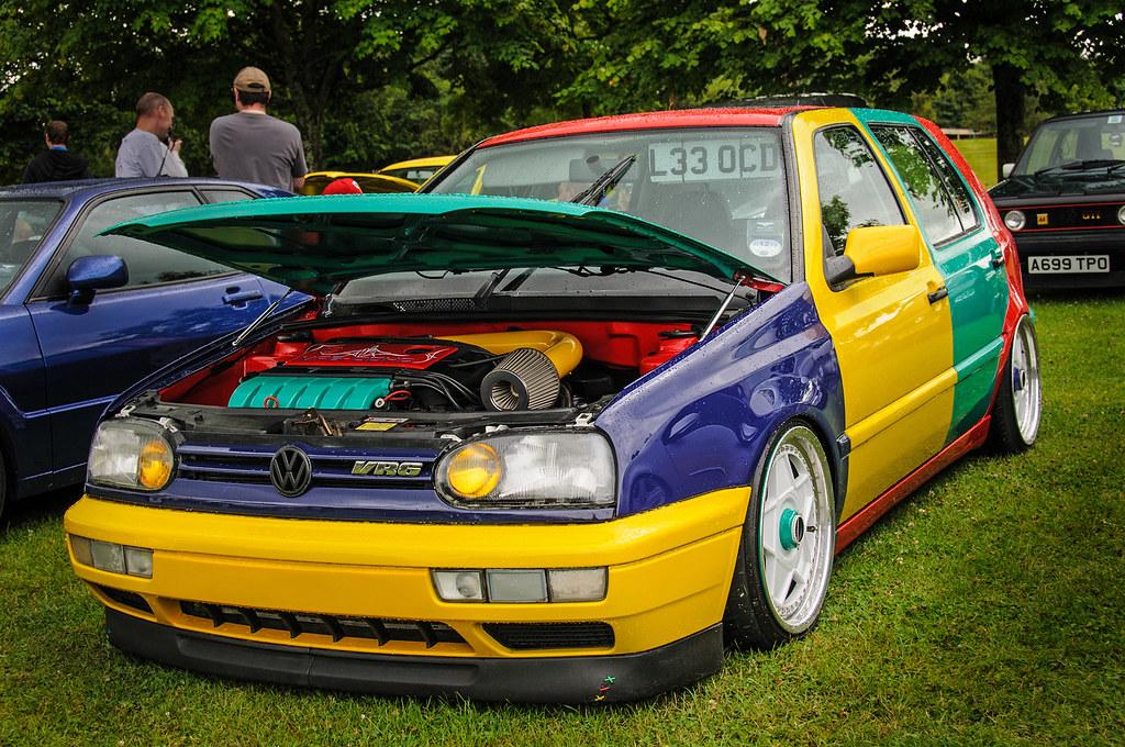 Golf Vr6 Harlequin Volkswagen Golf Vr6 Harlequin L33