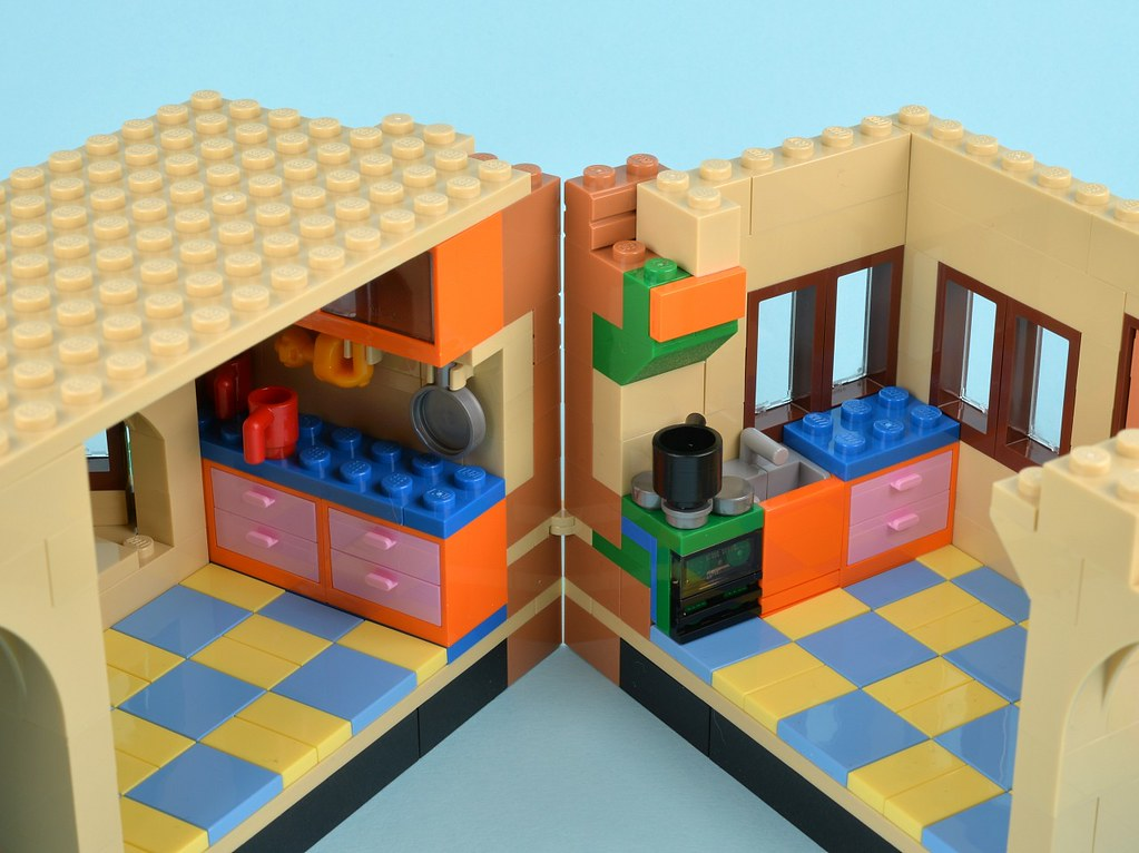 71006 The Simpsons House Brickset Flickr