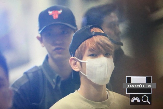 170320 EXO at Kuala Lumpur International Airport and Incheon Airport