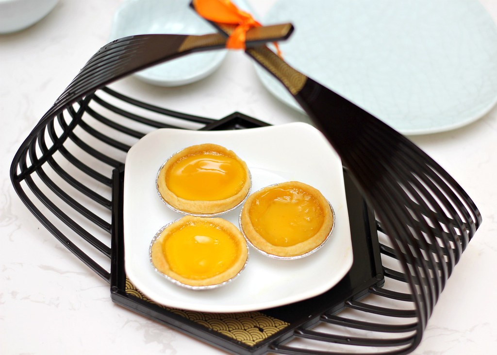 The Dim Sum Place: Traditional Egg Tarts