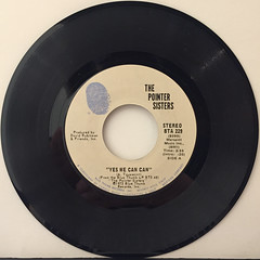 THE POINTER SISTERS:YES WE CAN CAN(RECORD SIDE-A)