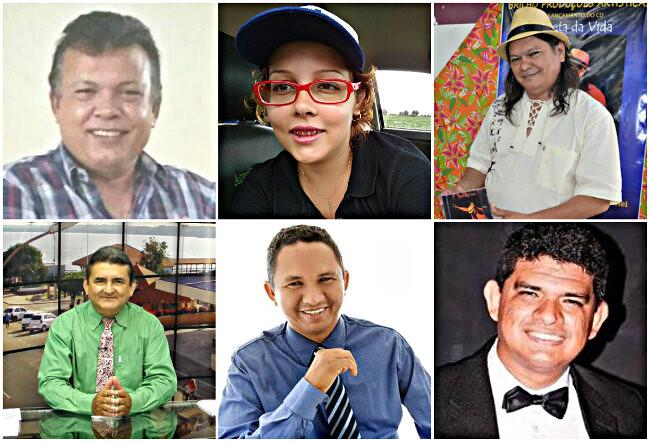holofotes - Barrudada, Dannie, Edu, Fleury, Natanael e Rafael