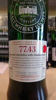 SMWS 77.43 - Japanese omelettes with Dunkelweizen