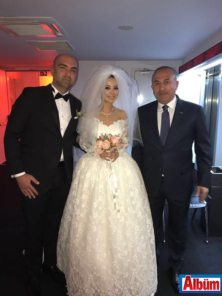 Mehmet Palancı, Yeliz Yakar, Dışişleri Bakanı Mevlüt Çavuşoğlu