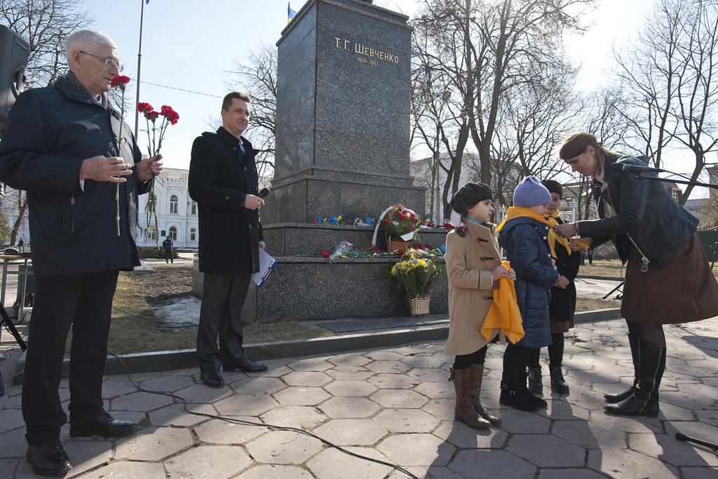 ВОдессе почтили память Великого Кобзаря