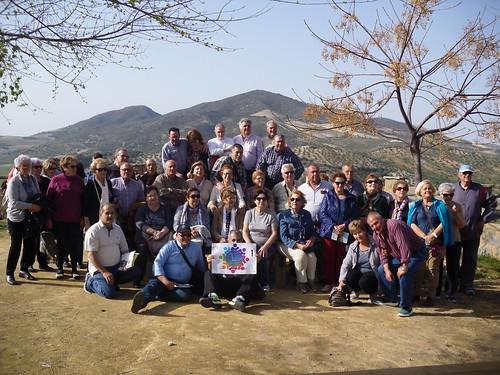 Asociación de jubilados y pensionistas 1º de Mayo viaje a Olvera